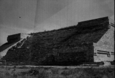 Pirámide de Yagul, en Oaxaca
