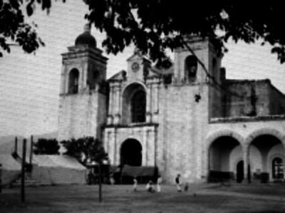 Iglesia de Oaxaca, fachada