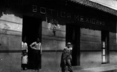 Botica Mexicana, fachada