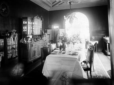 Comedor de una casa, interior