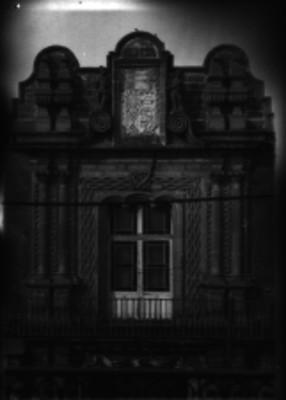 Nicho en la fachada de un edificio