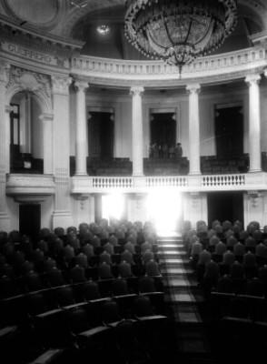 Cámara de Diputados, interior