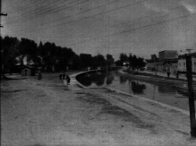 Canal del desagüe de Ixtacalco