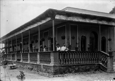 Casa de Jerónimo Hernández en Zacahuisco