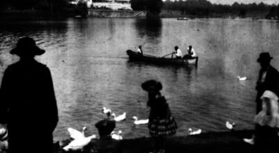 Embarcación en el Lago de Chapultepec