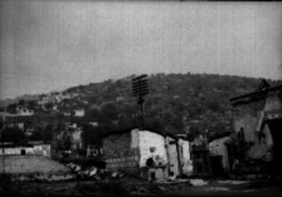 Casas de una colonia de la ciudad de México