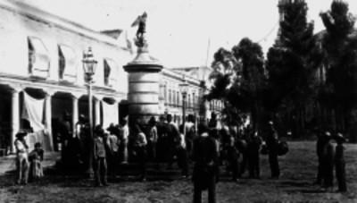 Aguadores en Santo Domingo