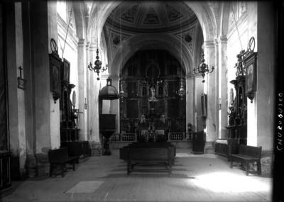 Capilla del convento de Churubusco, interior