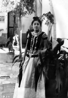 Tehuana, retrato