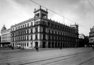 Ayuntamiento de la Ciudad de México, vista parcial