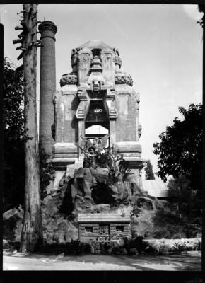 Túmulo funerario en el panteón Civil de Dolores