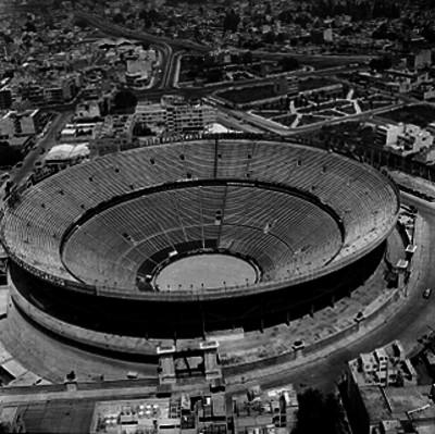 Plaza México, vista aérea