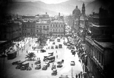 Calle del Zócalo de la ciudad de México
