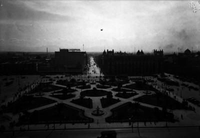 Plaza de la Constitución, panorámica