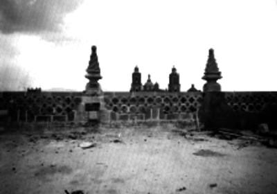 Campanarios de la Catedral, vistos desde un edificio frontal