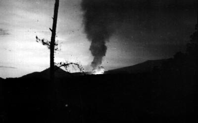 Erupción volcánica del Paricutín