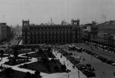 Plaza de la Constitución, vista parcial