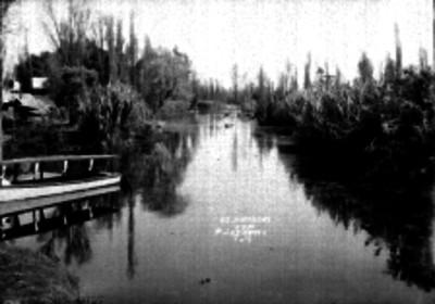 Canal de Xochimilco, vista parcial