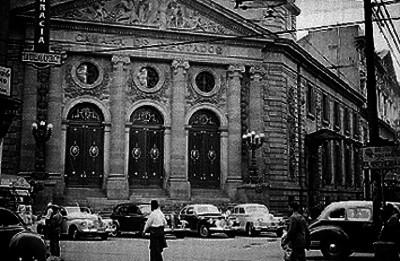 Cámara de Diputados, fachada