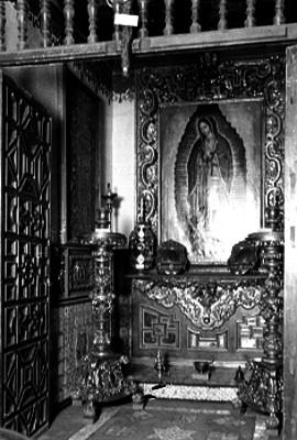 Altar de la Virgen de Guadalupe en la Basílica