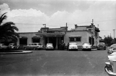 Oficinas de los estudios del cine C.L.A.S.A., en San Ángel
