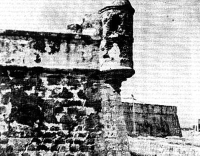 Torre y túnel en el fuerte de San Juan de Ulúa