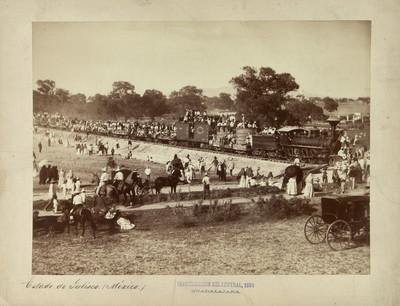 Inauguración del [Ferrocarril] Central 1888, Guadalajara