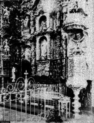 Interior de la Colegiata de Nuestra Señora de Ocotlán