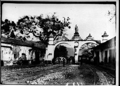 Arcos en la entrada de Orizaba