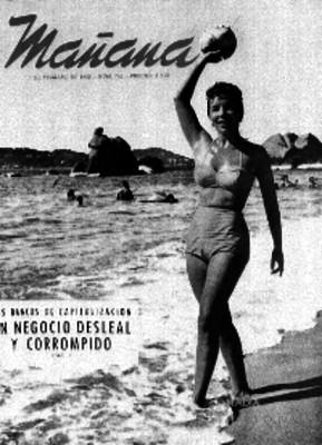 Nadia Haro OLiva modelando un bikini