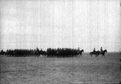Militares a caballo