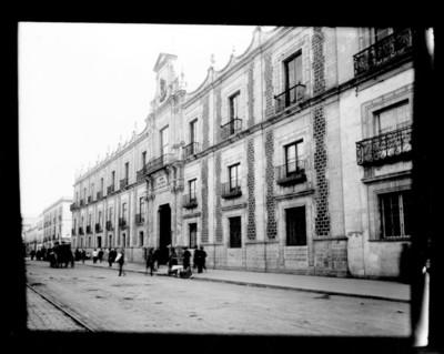 Antiguo Museo Nacional, fachada