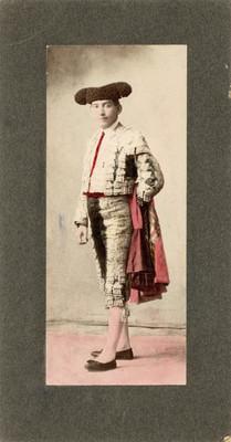 """""""Abraham Lupercio"""", torero y fotógrafo, retrato"""