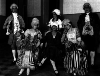 Actores, retrato de grupo