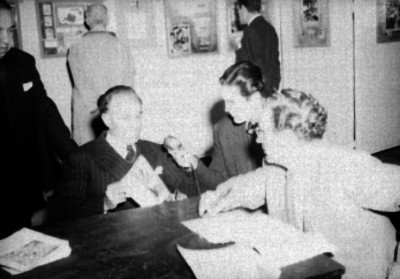 Gonzálo Castellot, durante una entrevista
