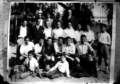 Equipo de futbol, retrato de grupo
