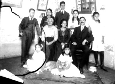 Familia, retrato de grupo