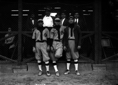 Jugadores del equipo E.F.M.; retrato