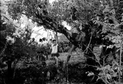 Excursionistas realizan pruebas de destreza en Amatlán