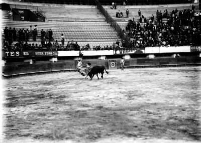 Manuel JIménez realiza una gaonera