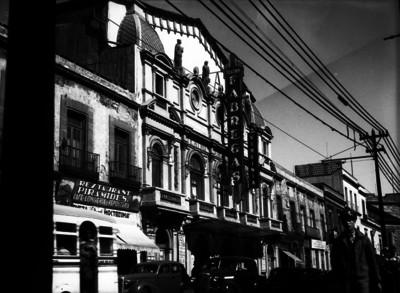 Fachada del Teatro Virginia Fábregas