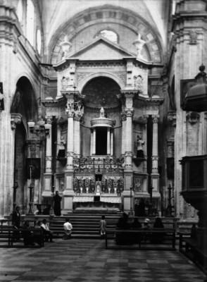 Altar mayor del Templo de la Compañía en Guanajuato