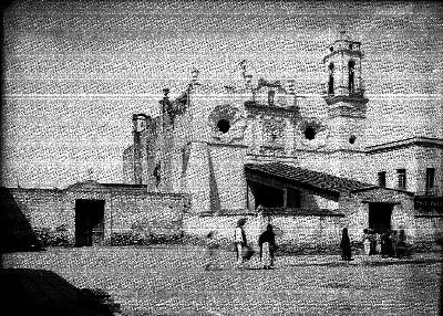 Iglesia de San Antonio Tomatlan, fachada