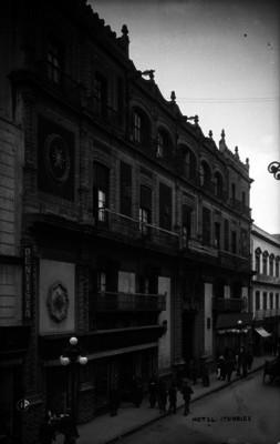 Hotel Iturbide, fachada