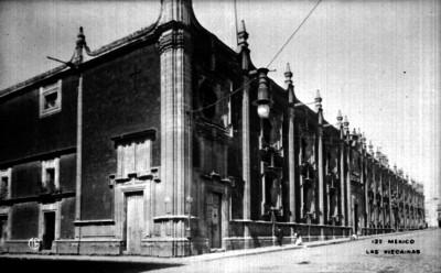 """Colegio de""""Las Viscainas"""", vista general"""