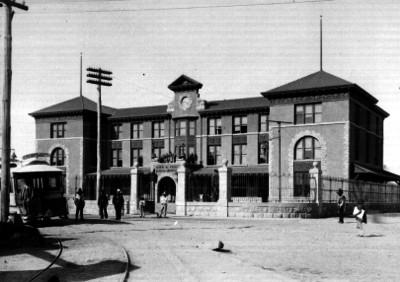 Estación San Lázaro, vista parcial