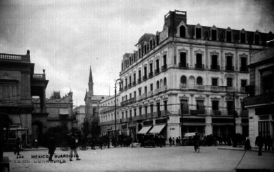Edificio Guardiola, vista parcial