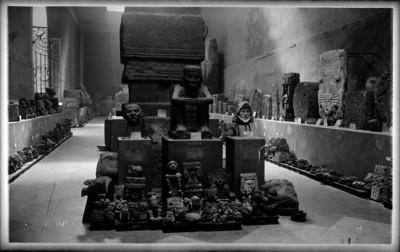 """Figuras prehispánicas exhibidas en el """"Museo Nacional"""""""