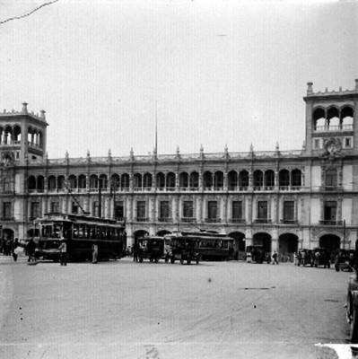 Ayuntamiento del Distrito Federal, fachada