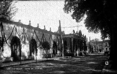 """Casa de Cortés en """"Coyoacán"""", fachada"""
